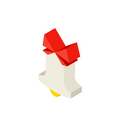 bell isometric object vector image