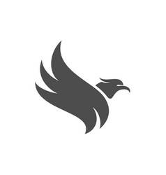 eagle logo design sport eagle logo template vector image
