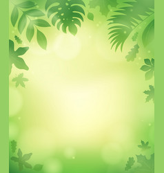 Leaves theme background 5 vector