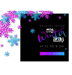 sale promotion banner vector image