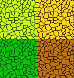 seamless irregular natural texture - leaf or vector image