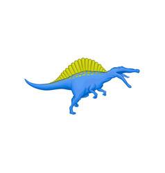 cartoon character of prehistoric animal - vector image vector image
