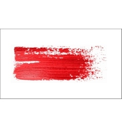 red brush strokes - backdrop for your text vector image