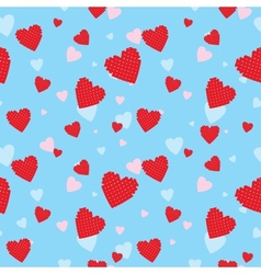 Valentine seamless vector image vector image