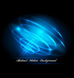 Whirlpool lighted lines abstract effects vector