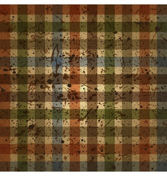 abstract checkered background vintage vector image