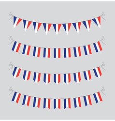 french bunting vector image