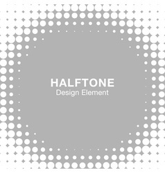 Abstract Halftone Design Element vector
