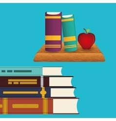 Books design vector image
