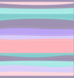 cute striped seamless pattern vector image