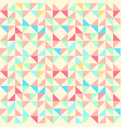 Geometric seamless pattern background with vector