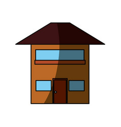 house real estate vector image