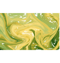 luxury yellow marble background with swirls vector image