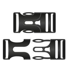Plastic buckle clasp 01 vector