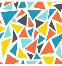 Seamless geometric background with multiple vector