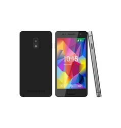 smartphone with the screen saver vector image