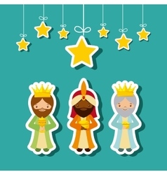 Three Wise Men design vector