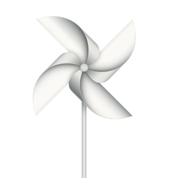 Wind toy vector
