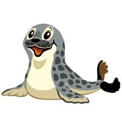 cartoon seal vector image vector image