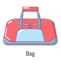 bag sport icon cartoon style vector image vector image
