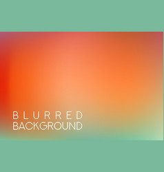horizontal wide red green blurred background vector image