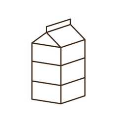 Milk breakfast food menu icon vector