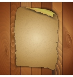 Vintage blank wooden panels vector