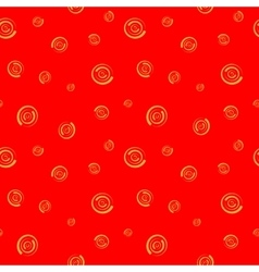 Polka dot chaotic seamless pattern 1208 vector image vector image