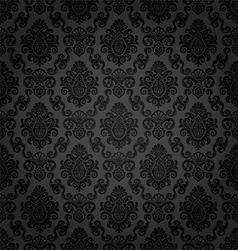 Seamless damask pattern vector image