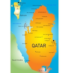 Qatar country vector image vector image
