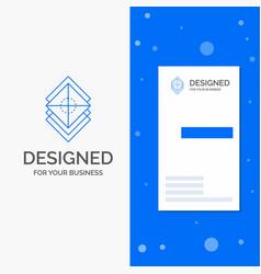 Business logo for arrange design layers stack vector