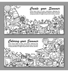 Create your Summer Fliers vector image