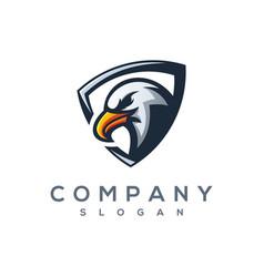 Eagle e sport logo vector
