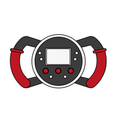 Formula 1 steering wheel vector
