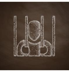 prisoner icon vector image