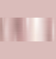 Rose gold metal texture background vector