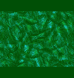 Seamless pattern a multilayer twisted green vector