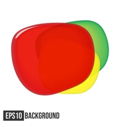 Abstract Background For Text Traffic Light eps10 vector image vector image