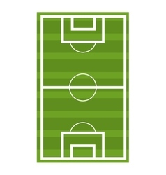 soccer court graphic vector image vector image