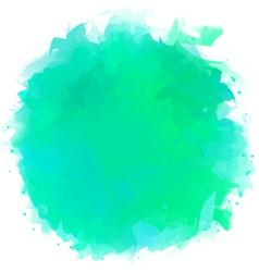 Watercolor Splotch vector image vector image