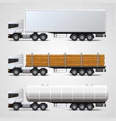 cargo traffic vector image vector image