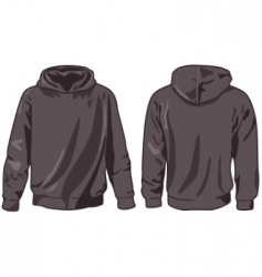 hoodie vector image vector image