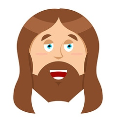 Jesus Christ Son of God biblical character of vector image vector image