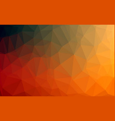 abstract colorful low poly background with vector image