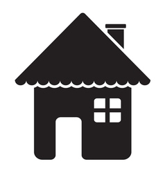 House icon1 vector image vector image