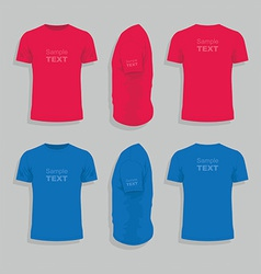 Men s t-shirt design template vector