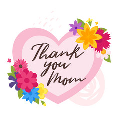 mother day design template vector image