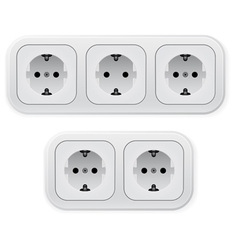 power outlets vector image