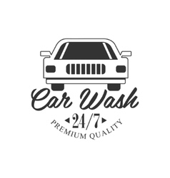 Premium Quality Round The Clock Carwash Service vector