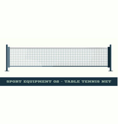 Realistic net for table tennis ping pong isolated vector